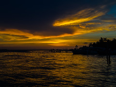 Dusk (spencer_r_allen) Tags: olympus tg4 tough waterproof compact sunset clouds refelction reflection islamujeres quintanaroo mexico