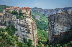 The monastery of Varlaam, Meteora (mandar_haridas) Tags: greece europe meteora monastery meteoramonasteries varlaam varlaammonastery july summer kalambaka