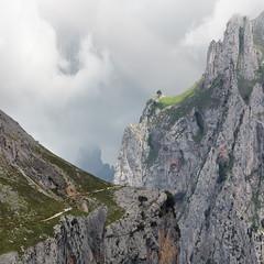 The Divine Gorge (haelio) Tags: cameracanon5d2 flong spain gorge picos de europa picosdeeuropa rutadelcares ruta cares river cliffs square