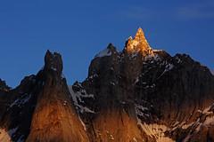 Karpogoro: Sun kissed Solu Tower (Shahid Durrani) Tags: biafo glacier karakorams gilgit baltistan pakistan