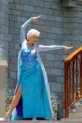 That perfect Girl is gone. (jordanhall81) Tags: elsa queen frozen snow ice magic power magical mickeys royal friendship faire mrff mickey mouse kingdom mk walt disney world wdw theme park amusement show live performer look alike character orlando florida lake buena vista lbv