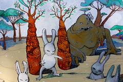 Aleister 236 (mc1984) Tags: mc1984 aleister236 rabbit monsters carrots tree croûte arboles painting flickr