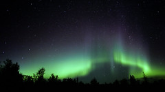 Aurora Borealis (Explore 5!) (Sam Wagner Photography) Tags: aurora borealis northern lights long exposure minnesota mn schroeder lutsen green dancing red glowing night sky astrophotography