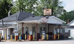 Service Station (robgividenonyx) Tags: kentucky servicestation fillingstation gaspumps abandoned marioncounty