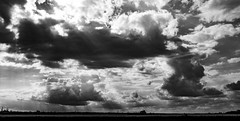 Hamble Clouds 2 (chris.willis3) Tags: panorama stitched water southamptonwater ship clouds contrast dramatic nikond5200 chriswillis3