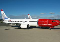 EI-FJT (Skidmarks_1) Tags: boeing737800 eifjt norwegianairinternational aviation aircraft airport airliners engm norway osl oslogardermoenairport