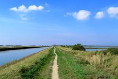 IMG_0068x (gzammarchi) Tags: ia paesaggio natura ferrara lidodispina parcodeltadelpo oasi vallesina lago strada sentiero nuvola