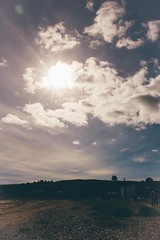 Sun's out! (Lim Amira) Tags: stonehaven aberdeen aberdeenshire scotland uk landscape adobelightroom postthepeople beach people sun colours serene calm lush warmth warm canon canon750d