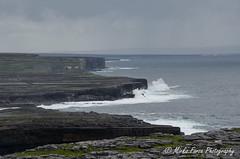 DSC_0565 (mirkoforza) Tags: ireland nikon d5100 35mm 18108 cliff nature galway wild panorama amazing sky sea green