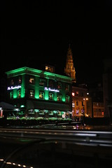 IMG_0921 (AndyMc87) Tags: the grashopper night amsterdam green light outdoor port ship gracht westerkerk canon eos 6d 2470 bokeh