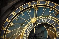 What Time is it? (dlerps) Tags: czech czechrepublic daniellerps prague praha sonyalphaa77 lerps prag tschechien sony sonyalpha sigma a77 sonyalpha77 sonya77 europe europa oldtownsquare clock astronomicalclock gold watch time sun romannumbers zodiac zodiacsigns sternzeichen tierkreiszeichen