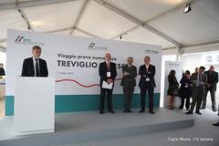Graziano DelRio Ministro Trasporti (Ferrovie dello Stato Italiane) Tags: rfi trenitalia treno av linea altavelocit treviglio brescia viaggio prova trasporti infrastrutture