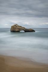 (alouest225) Tags: biarritz pyrnesatlantiques ocean atlantique sea mer rocheperce miramar plage beach nikon d750 paysage landscape seascape france aquitaine clouds sky nuages ciel cloudsstormssunsetssunrises ocan alouest225 nikon28300 longexposure poselongue