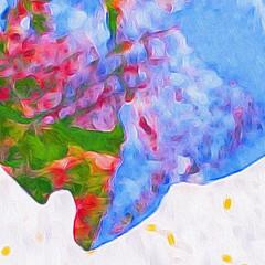 Rising and falling (readerwalker) Tags: ipainting abstracts brushstroke ipadart