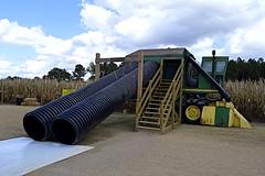 Cotton Pickin' Slide (mslabrat13) Tags: farmmachinery harvester cottonpicker slide unusual flickrfriday
