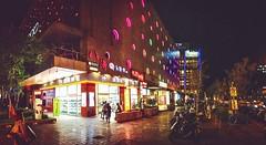 Night in Miramar, Taipei.Panorama (Evo-PlayLoud) Tags: appleiphone6plus appleiphone6 appleiphone iphone6plus iphone6 6plus 6 mobilesnapshot snapshot snapshots snap nightimage lowlight lowlightimage miramar neihu taipei people street streetphotography taiwan      city       color colorful colors  panorama panoramas