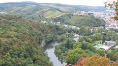 Blick auf Nahe und Bad Münster am Stein-Ebernburg