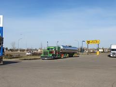 JADE (jr-transport) Tags: peterbilt long hood custom large highway praries jade largecar paint seminole