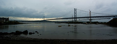 Forth Road Bridge #1 (Claire Stones) Tags: forthroadbridge october scotland grey cloud firthofforth clouds nikon forth