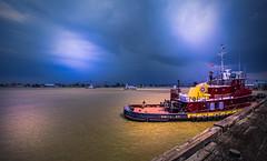 Tugboat in Mississippi River - New Orleans - Louisiana - USA (R.Smrekar-CH) Tags: usa river ship thunderstorm louisiana d750 smrekar 000100