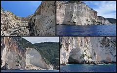 Kalksteenkliffen / limestone Cliffs (Paxos Greece) (wilma HW61) Tags: kalksteenkliffen limestonecliffs roccecalcaree falaisescalcaires kalksteinklippen natuur nature natur naturaleza wilmahw61 nikond90 wilmawesterhoud griekenland europa paxos paxi paxoi  klakptrankremos  vrachdeisakts      petrmata ellda evrpi fsi rocce grecia natura falaises roches grce europe klippen felsen griechenland cliffs rocks greece outdoor photoborder peloponnese kust coast cte kste  akti rock cliff rockformation crag