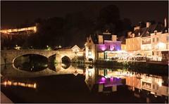 Port de DINAN - Ctes d'Armor - FRANCE (Gycess) Tags: dinan ctesdarmor bretagne france photodenuit nightphotography longueexposition longexposure