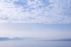 Croatian coastline (torekimi) Tags: croatia morning sea adriatic coast blue calm