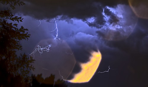 water drops and lightning - IMG_1375