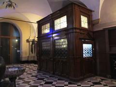 Vestibule of main doors, Franciscan Church, Ljubljana, Slovenia (Paul McClure DC) Tags: church architecture historic slovenia ljubljana slovenija jan2013