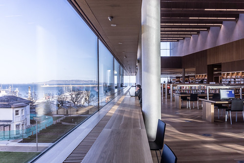 New Public Library In Dun Laoghaire, Officially Called DLR Lexicon Opened To The Public Today And It Is Worth Visiting Ref-100544