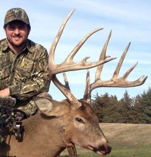 Kansas Trophy Whitetail Bow Hunt 31