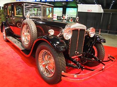 1928 Daimler P.I 50 Double-Six 3 (Jack Snell - Thanks for over 24 Million Views) Tags: sf auto show ca wallpaper cars wall vintage paper san francisco center pi international info collectible 50 moscone 1928 daimler 57th doublesix excotic jacksnell707 jacksnell
