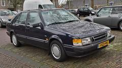 Saab 9000 Hatchback 2.3i-16 (sjoerd.wijsman) Tags: auto blue holland cars netherlands car blauw nederland thenetherlands delft voiture bleu vehicle holanda hatch autos blau import saab paysbas olanda 9000 hatchback fahrzeug bluecar niederlande zuidholland carspotting bluecars liftback saab9000 carspot 21122014 sidecode8 1xzj95