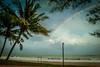 Rainbow @ air papan mersing johor (kmlsadaf) Tags: beach beautiful rain nice rainbow nikon niceshot malaysia johor mersing nikonian nikonphotographer d3100dslr