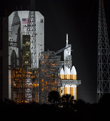 Orion, Delta IV Heavy at SLC 37
