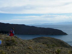 Femme (Mylouchka) Tags: sol titicaca del la paz bolivia isla bolivie