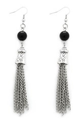 5th Avenue Black Earrings P5130-4
