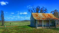 Historic Kings Plains Station post office and school room (Aussie~mobs) Tags: decay postoffice rusty australia historic schoolhouse dilapidated kingsplains