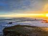 Santa Cruz sunset (dalecruse) Tags: santacruz california unitedstates lightroom scphoto sunset beach water sky landscape sea shore seaside coast serene seascape outside outdoor outdoors sun sunlight light flickr