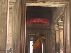 Adorned Buddha in Angkor Wat