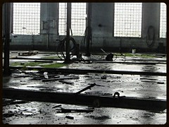 Alte Ringlokschuppen (v8dub) Tags: old railroad abandoned train germany deutschland decay eisenbahn railway zug bahn allemagne gebude bremerhaven trein urbex niedersachsen lehe
