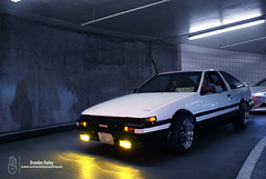 Toyota AE86 (Brandon Bailey Design/Photography) Tags: show cars car boston japan underground japanese automobile garage automotive toyota tuner meet corolla jdm ae86 tuned carporn jdmcars