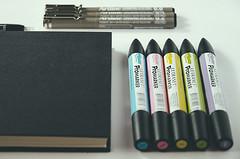 Diario Ilustrado 2015 (Wasel Wasel Crafts) Tags: drawing diary dibujo diario proyectos letraset 2015 artline ilustrado promarker waselwasel