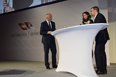 Empfang mit Premierminister Vucic