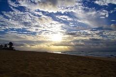 Make the most of every day (lizochka_65) Tags: ocean sea sun beach sunrise hawaii sand waves pacific pentax oahu horizon shore honolulu sandybeach pentaxk30