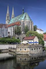 St. Peter and Paul church, Grlitz (Pawel Banaszkiewicz) Tags: church river paul grlitz peter nysa