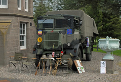 Living History Day 017 (john_mullin) Tags: castle heritage history museum army scotland education military perthshire scottish vehicles highland perth learning historical british legacy reenactors redcoats blackwatch regiment perthcity balhousie highlanddivision