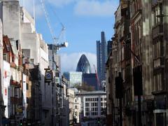 The City from Fleet Street (Dun.can) Tags: street city london gherkin fleetstreet cityoflondon cheesegrater ludgatehill