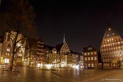 (brandenburg-photo.de) Tags: street urban deutschland architektur gebude hildesheim niedersachsen nachtaufnahmen