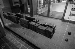 Hands on (-BigM-) Tags: city bronze germany buch deutschland photography book town fotografie library down stadt knob baden fils bigm württemberg bücherei göppingen knauf